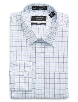 smartcare-trim-fit-check-dress-shirt by nordstrom-mens-shop
