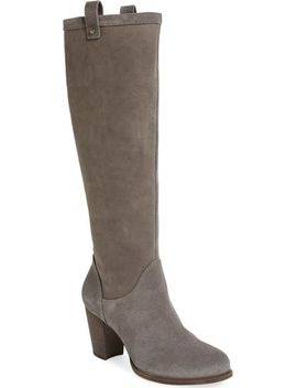 ava-tall-water-resistant-suede-boot by ugg