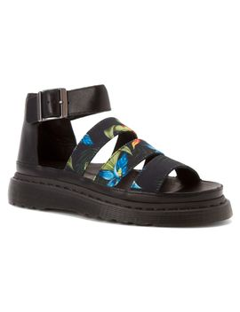 Women'sClarissa Chunky Strap Sandal by Dr. Martens