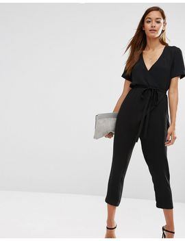 asos-jumpsuit-with-wrap-and-self-tie by asos-collection