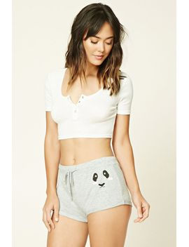 animal-face-pj-shorts by forever-21