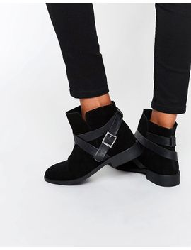 asos-alex-suede-slouch-ankle-boots by asos-collection