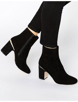 asos-ramero-metal-detail-ankle-boots by asos-collection
