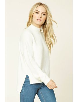 contemporary-high-neck-sweater by forever-21