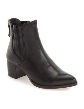 bailey-pointy-toe-block-heel-bootie by halogen®
