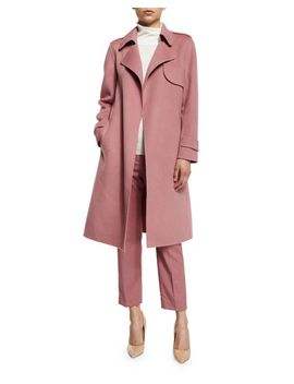 oaklane-new-divided-open-front-trench-coat,-pink-willow by theory