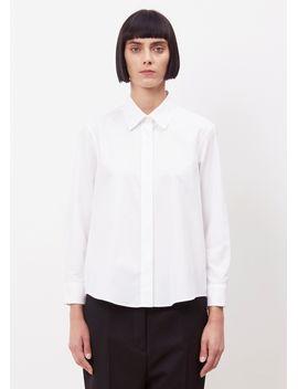 White Valentina Shirt Jil Sander