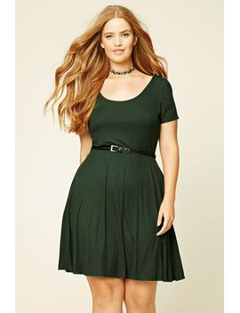 plus-size-skater-dress by forever-21