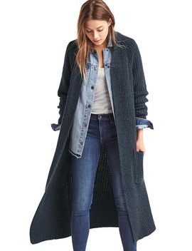 Shoptagr | Maxi Shaker Cardigan by Gap