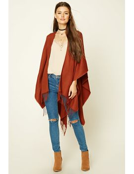 tasseled-poncho by forever-21