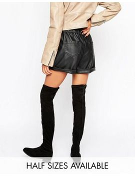 asos-–-keepers-–-flache-overknee-stiefel by asos-collection
