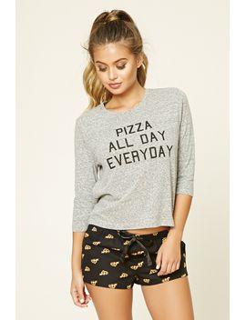 pizza-graphic-pj-set by forever-21