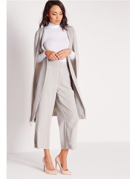 cropped-wide-leg-culottes-grey by missguided