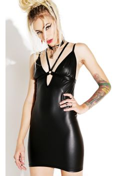 bomb-harness-mini-dress by current-mood