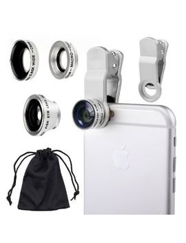 universal-3-in1-camera-lens-kit-for-smart-phones-includes-one-fish-eye-lens-_-one-2-in-1-macro-lens-and-wide-angle-lens-_-one-universal-clip-_-one-microfiber-carrying-bag-_-with-camkix-retail-packaging---compatible-with-iphone,-samsung-galaxy,-htc,-m by amazon