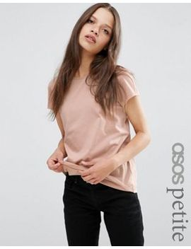 camiseta-con-cuello-redondo-the-ultimate-de-asos-petite by asos