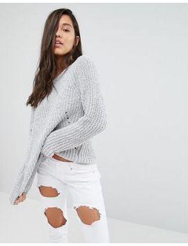 jersey-de-punto-grueso-de-missguided by asos