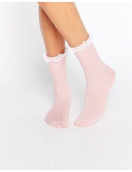 gipsy-ruffle-top-socks by gipsy