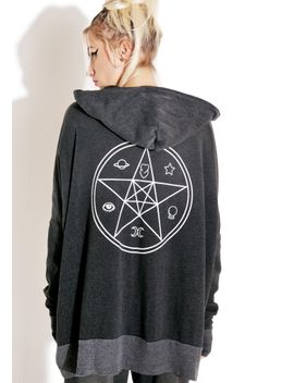 sacred-charmed-hoodie by wildfox-couture