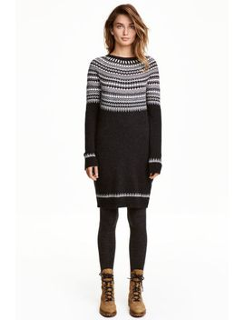 knitted-dress by h&m