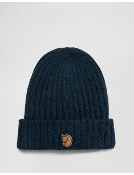 fjallraven-byron-wool-beanie-in-navy by fjallraven