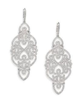statement-pavé-crystal-gate-drop-earrings_silvertone by adriana-orsini