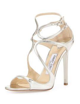 lance-metallic-strappy-sandal,-silver by jimmy-choo