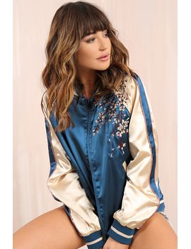 spring-it-on-jacket---navy-floral by lola-shoetique