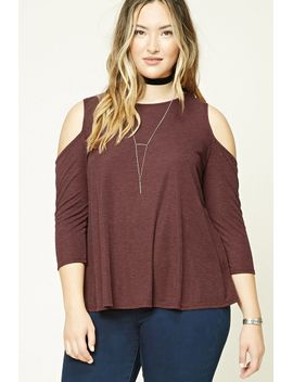 plus-size-heathered-tunic by forever-21