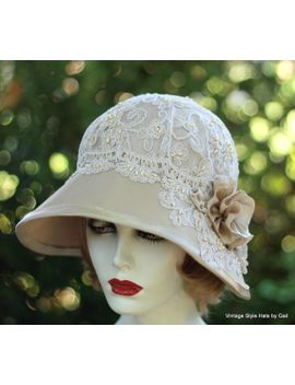 womens-hats,-1920s-hat,formal-hat,vintage-style-wedding-hat,wide-brim-wedding-hats,-downton-abbey-hats,lace-hats,special-occasion-hats by gailshats