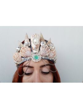 mermaid-crown-large:-from-the-sea-to-the-moon by starstuffboutique