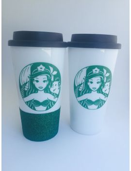 little-mermaid-cup,-little-mermaid-to-go,-little-mermaid-tumbler,-little-mermiad-gifts,-mermaid-gifts,-mothers-day-gift,-gifts-for-her, by lcdazzle