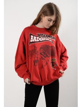 wisconsin-badgers-sweatshirt-(4359) by no-brand-name
