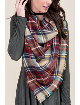 celia-plaid-square-scarf by francescas