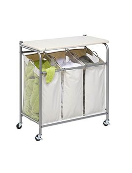 honey-can-do-rolling-laundry-sorter-with-ironing-board by honey-can-do