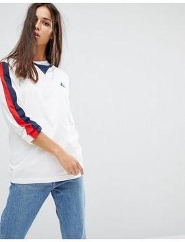 le-coq-sportif-–-hochwertiges-retro-shirt-mit-langem-arm by -le-coq-sportif