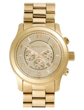 large-runway-chronograph-bracelet-watch,-45mm by michael-kors