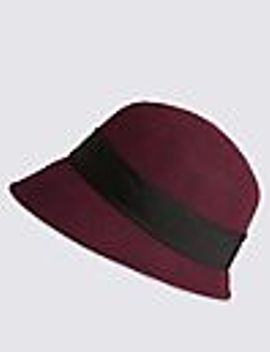 pure-wool-cloche-hat by marks-&-spencer