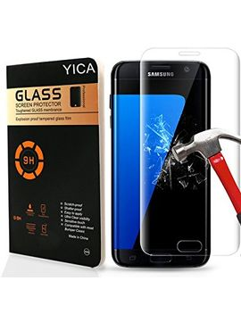 samsung-s7-screen-protector,yica-samsung-galaxy-s7-clear-tempered-glass-[full-screen-coverage]-design-screen-protector-for-samsung-galaxy-s7 by amazon
