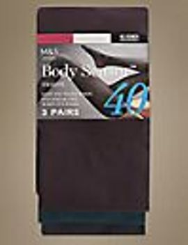 3-pair-pack-40-denier-body-sensor™-opaque-tights by marks-&-spencer