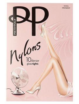 nylons-10-denier-gloss-tights by pretty-polly