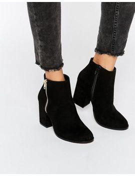 faith-belinda-zip-heeled-ankle-boots by faith
