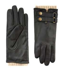 leather-and-knit-driving-gloves by accessorize