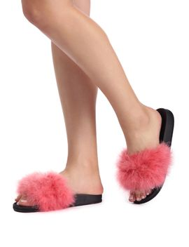 final-sale--coral-feather-sliders by windsor