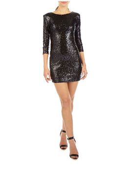 paris-sequined-bodycon-dress by tfnc