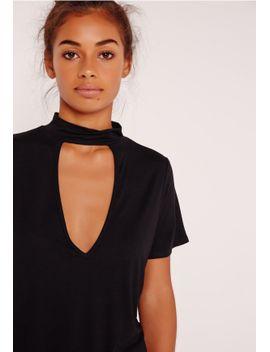 choker-t-shirt-black-16 by missguided