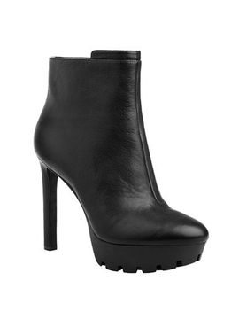 xerin-leather-track-sole-booties by nine-west