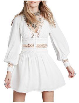 i-think-i-love-you-mini-dress by free-people