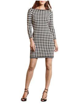 gingham-cotton-blend-dress by lauren-ralph-lauren