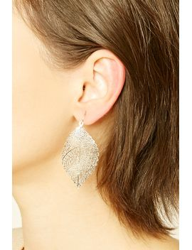 cutout-leaf-earring-set by forever-21
